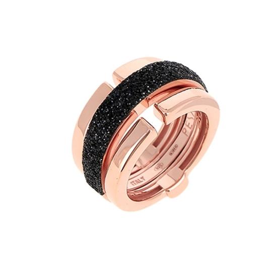 Sortija Pesavento polvo de sueño rosa negro - WPLVA1580 - 1