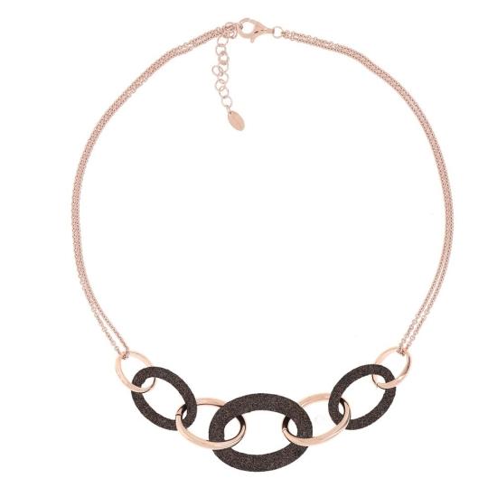 Collar Pesavento polvo de sueño rosa marrón - WPLVE1160 - 1
