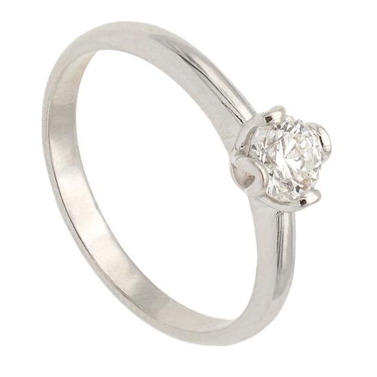Solitario con diamante - 1096 - 1