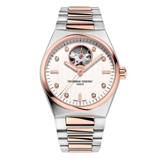 Frederique Constant Highlife Ladies Automatic Heart Beat - FC-310VD2NH2B - 1