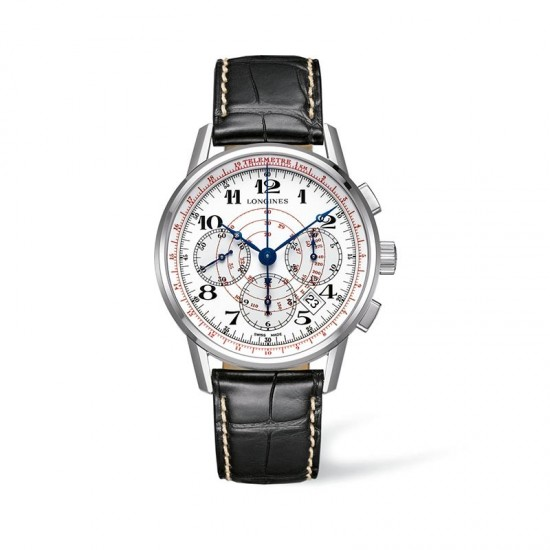 Reloj de hombre Longines Heritage Telemeter - L2.780.4.18.2